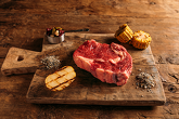 Black Angus Ribeye beefsteak, Ireland   