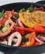 Калмари със зеленчуци
