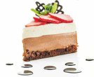 Шоколадова торта с маскарпоне и ягоди