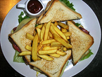 Club sandwich for two