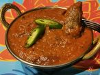 LAMB MADRAS lamb in extremely pungent sauce