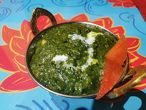 PALAKI MURGH chicken fillet in spinach sauce