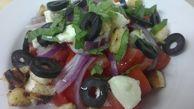 ПАНЦАНЕЛА (домати,маслини,червен лук , моцарела,крутони и босилек, чери домати)