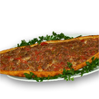 Pide with minced meat
