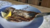 Sea bass grilled (the price is for 50 g. The final amount depends on the size of the fish)