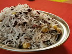 TRIRATNA RICE basmati rice with added black rice and chickpeas
