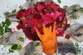 Vinaigrette with Herring